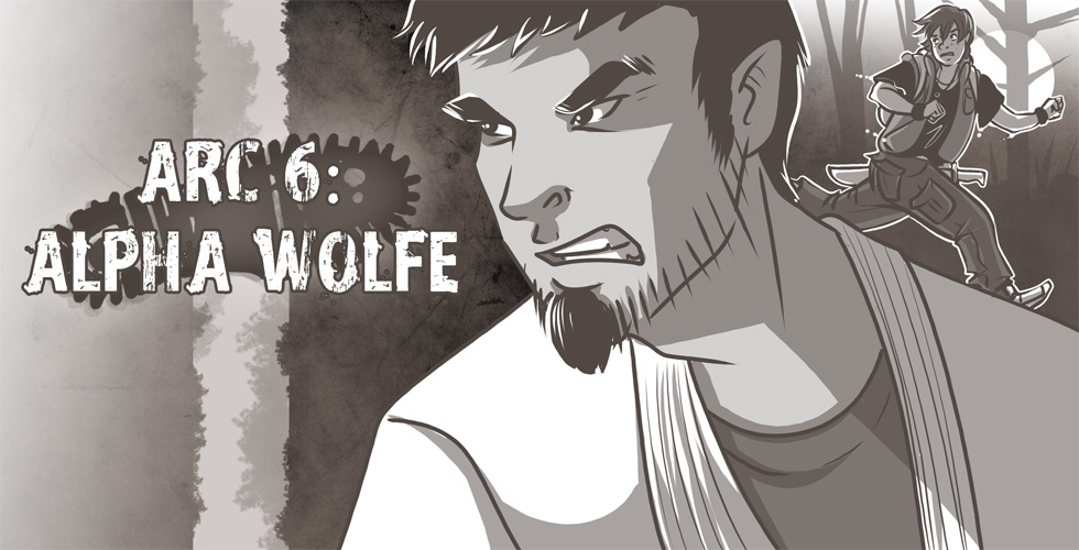 Arc 6 - Alpha Wolfe - Cover